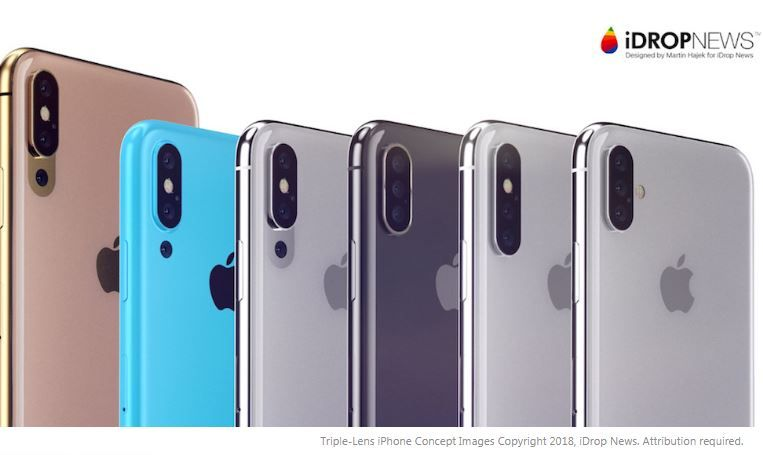2019 iPhone said to have triple lens camera system.JPG