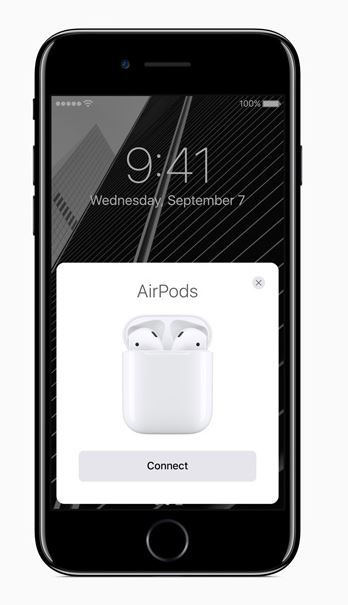 Apple AirPods available but scarce.JPG