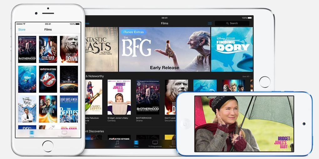 Apple and studios plan to make new movies available on iTunes.JPG