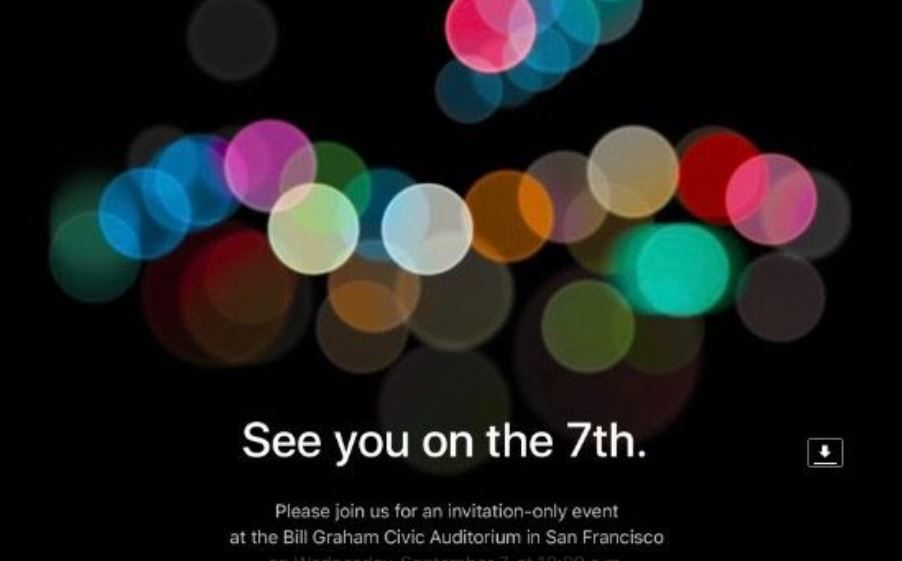 Apple sents out iPhone 7 event invite.JPG
