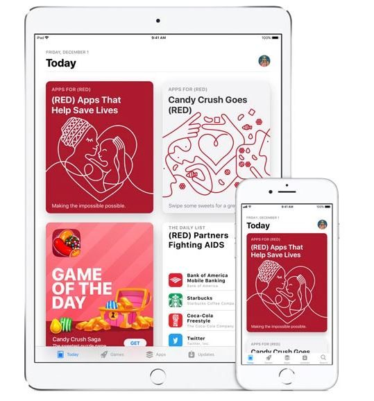 Apple supports world AIDS day.JPG