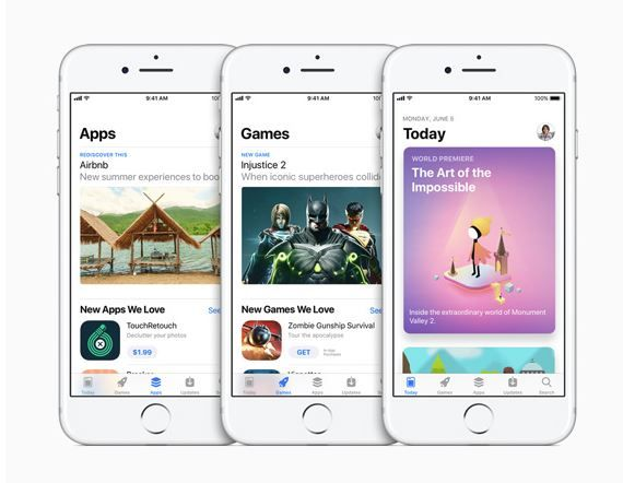 Apple unveils redesigned App Store at WWDC17.JPG