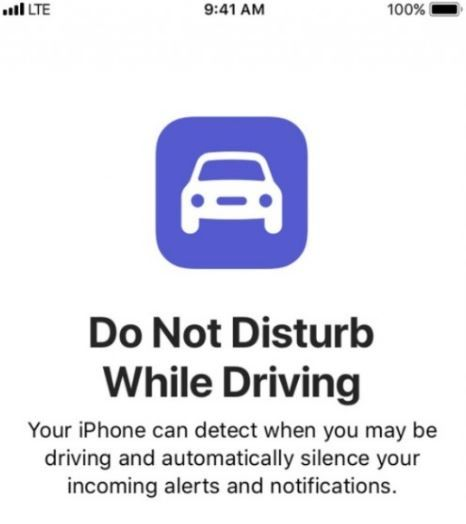 Apple's Do Not Disturb While Driving is Helping People stop using their phones when driving.JPG