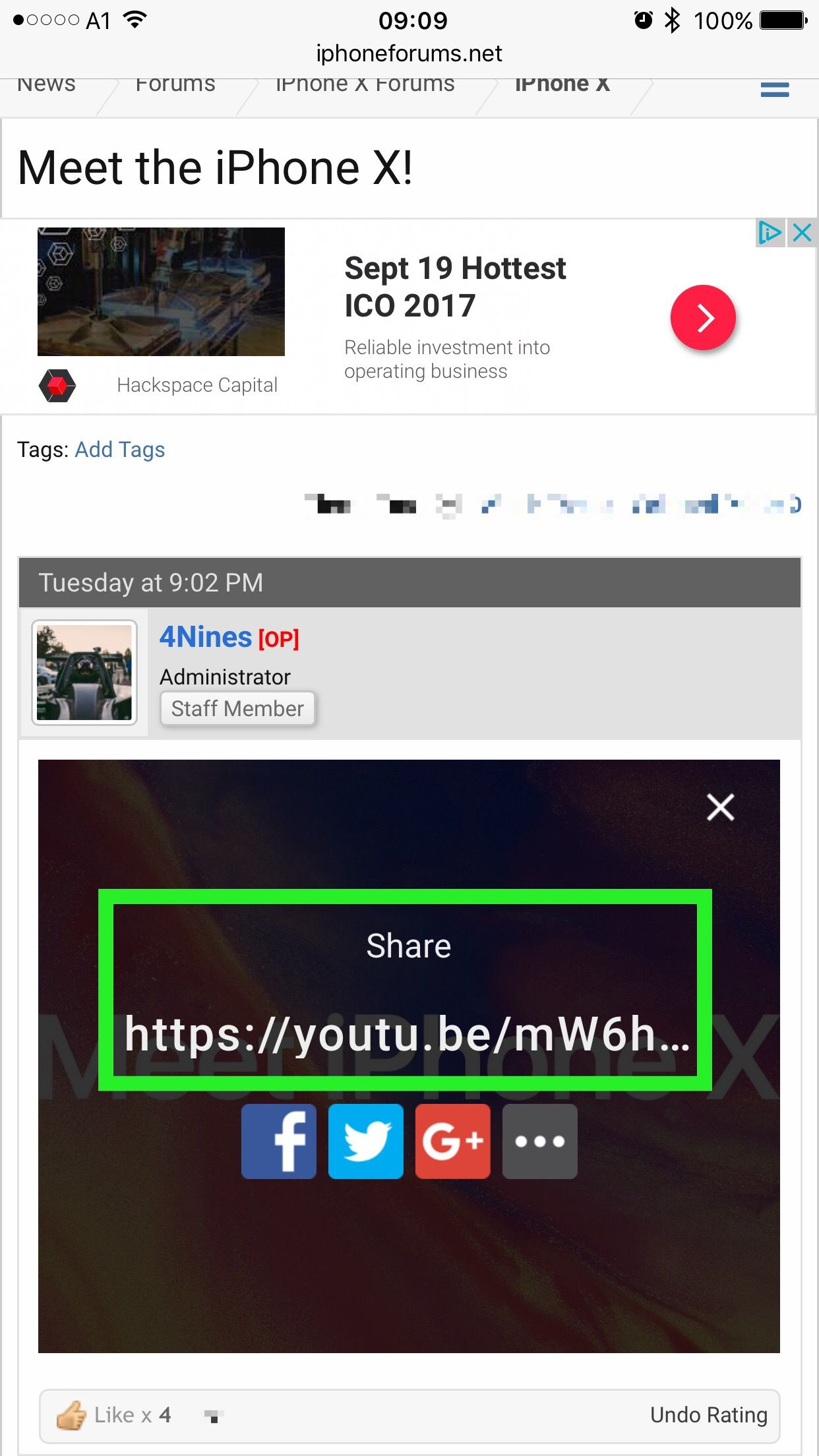 Chrome not opening youtube links in App, only in browser