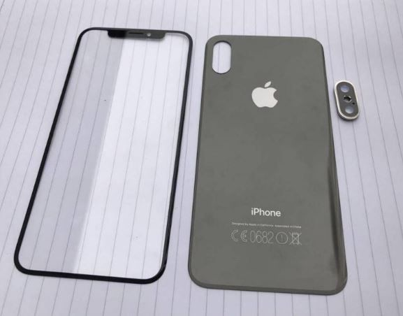 First supposed front and back iPhone 8, iPhone 7s and iPhone 7s Plus components leak.JPG