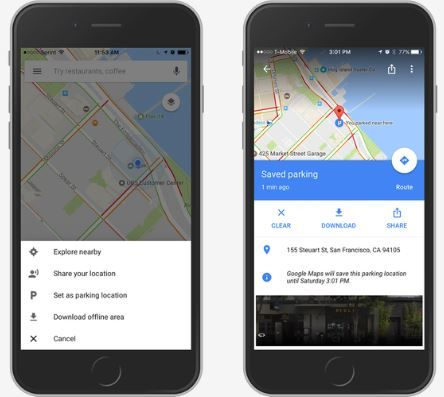 Google Maps will now remember where you parked your car.JPG