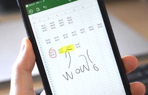 Handwritten and hand drawn annotations come to Office for iPhone.JPG