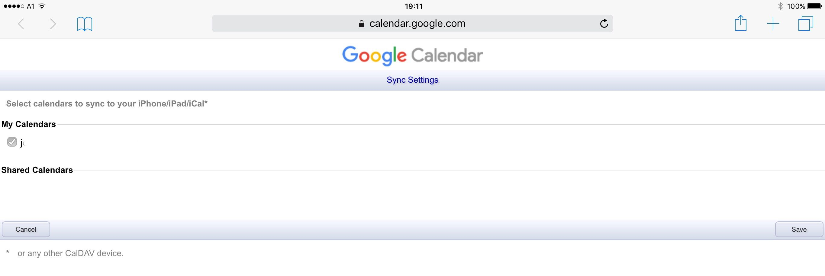 Can't sync google calendar on iphone & ipad | Apple iPhone Forum