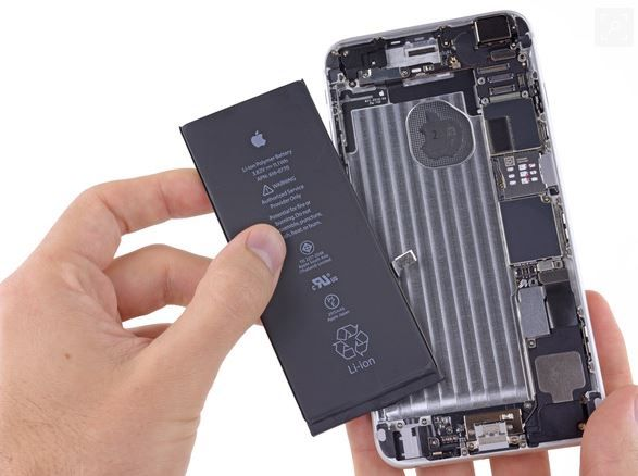 iPhone 6 Plus battery replacement delayed due to supply shortages.JPG