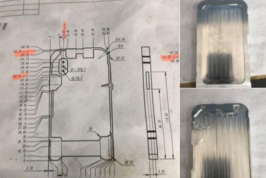 iPhone 8 schematics and mold leak.JPG