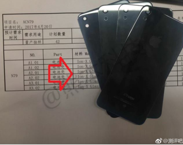 iPhone SE 2 could have glass back according to leaked images.JPG