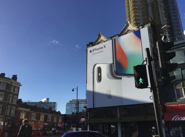 iPhone X billboards spring up in iconic locations around the world.JPG