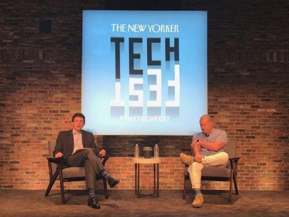 Jony Ive talks to TechFest in New York.JPG