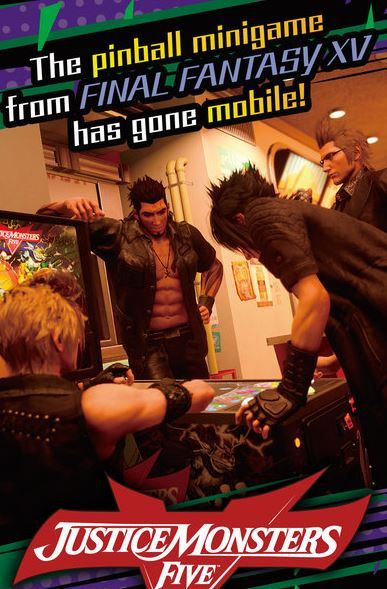 Final Fantasy XV Pinball Minigame Arrives in App Store