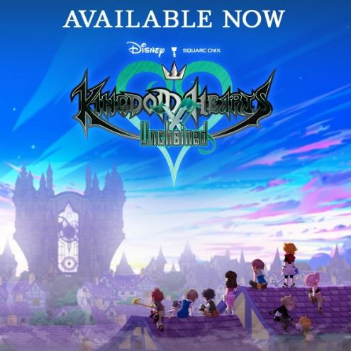 Kingdom Hearts Unchained x out now worldwide.JPG