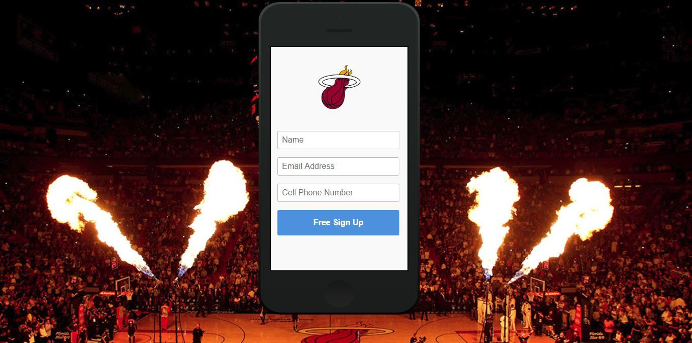 Miami Heat is the first NBA team to go mobile-entry only.JPG