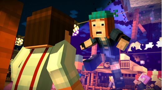 Minecraft story mode first episode is free iPhone.JPG