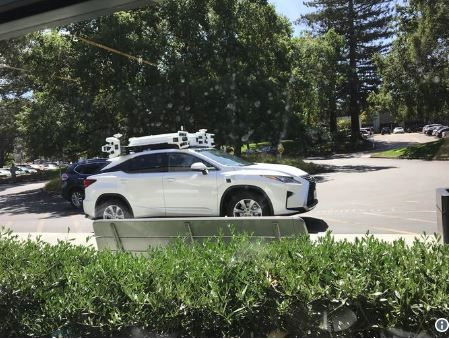 More pictures of Apple's self driving car emerge.JPG
