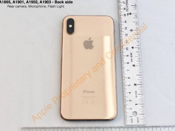 New FCC filings show Apple was working on gold iPhone X last year.JPG