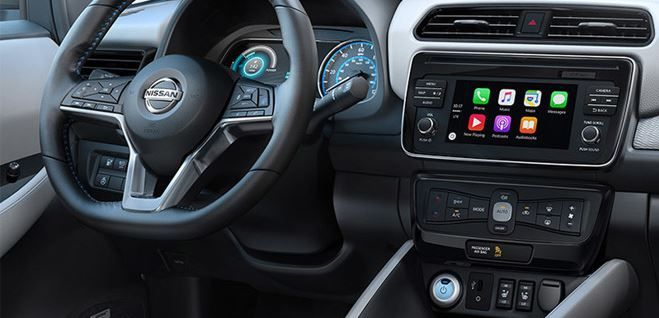 New Nissan Leaf model has Apple CarPlay and free Apple Watch giveaway.JPG