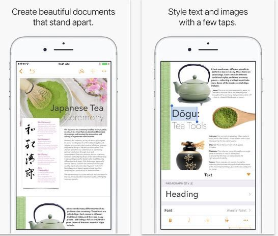 Pages, Numbers and Keynote get new iOS 11 features iPhone.JPG