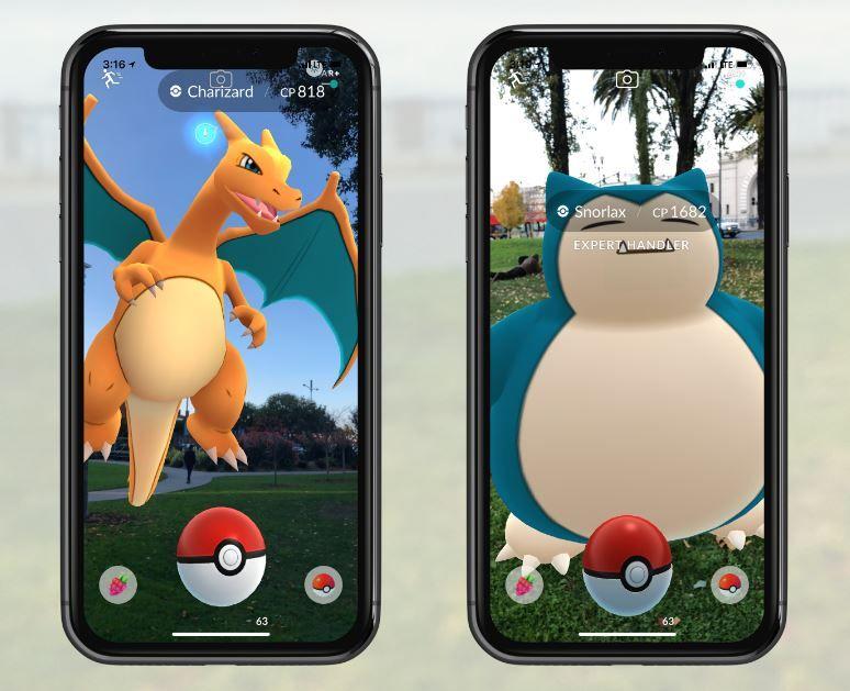 Pokemon Go on iPhone gets new AR plus mode.JPG