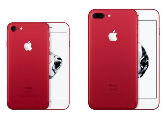 Product RED iPhone available to pre order and pick up now instore.JPG
