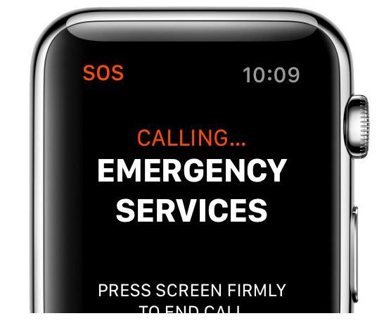 Rumour that LTE Apple Watch Series 3 can make emergency calls without iPhone.JPG