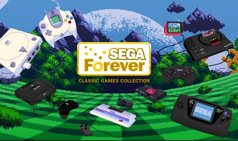 SEGA Forever out now.JPG