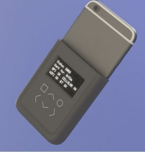 Snowden helped design iPhone case.JPG
