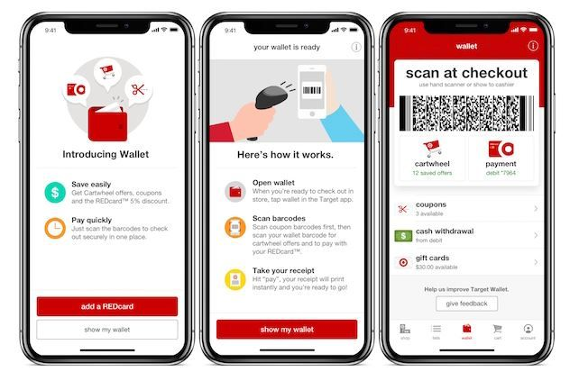 Target launches new Wallet feature in iOS app.JPG