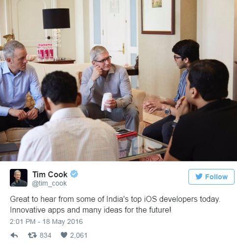 Tim Cook visits India.JPG