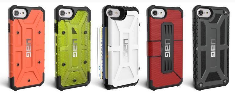 Urban Armor iPhone 7 and iPhone 7 Plus cases.JPG