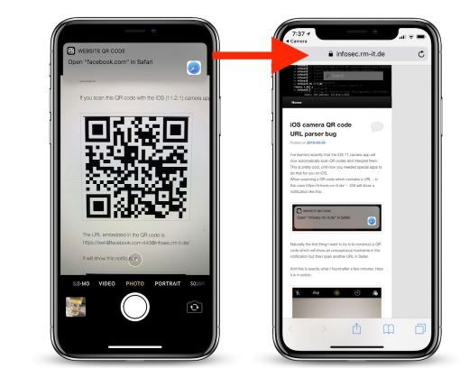 Vulnerability found in iOS 11 camera QR reader.JPG
