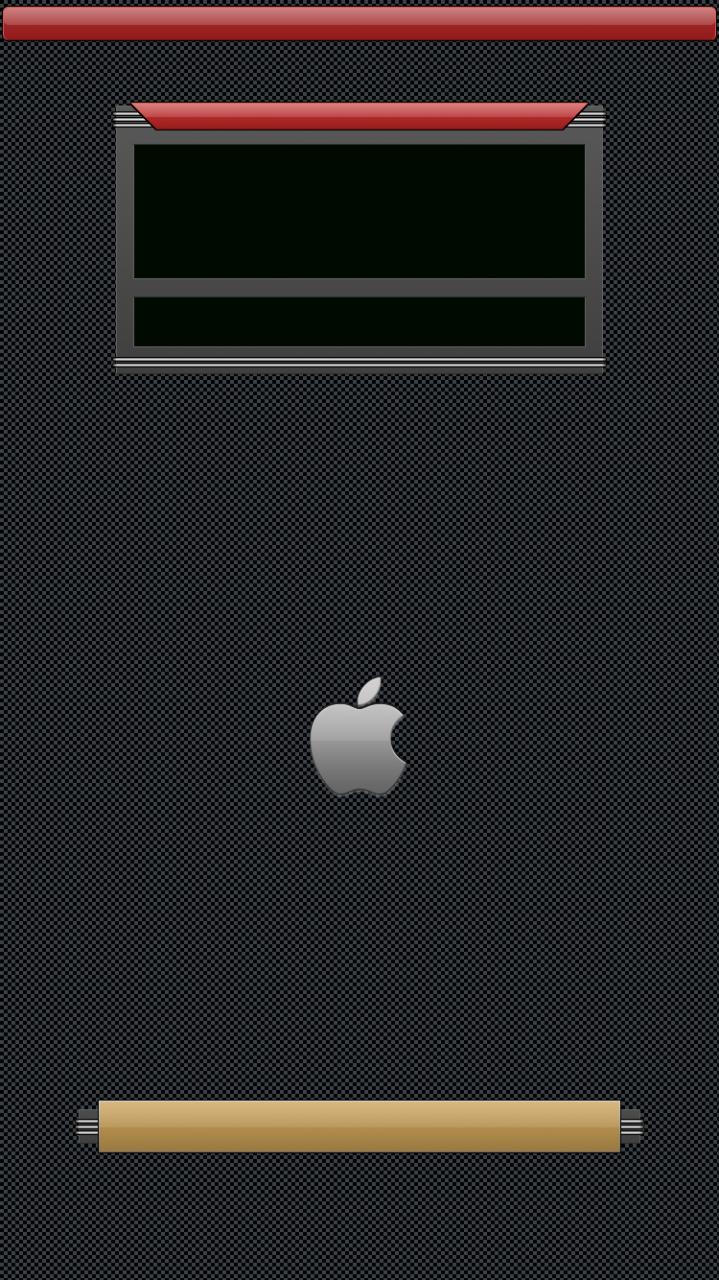Retro lock screen